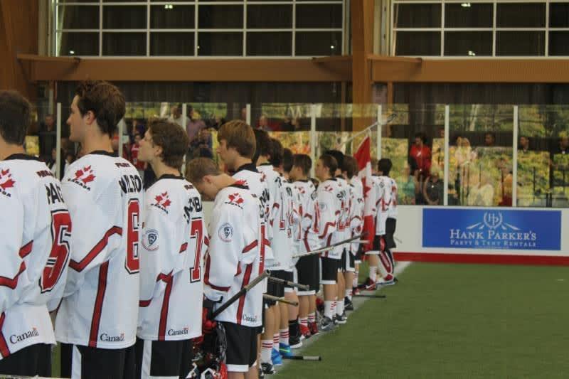 U17 Box Lacrosse Game: Canada-Iroquois