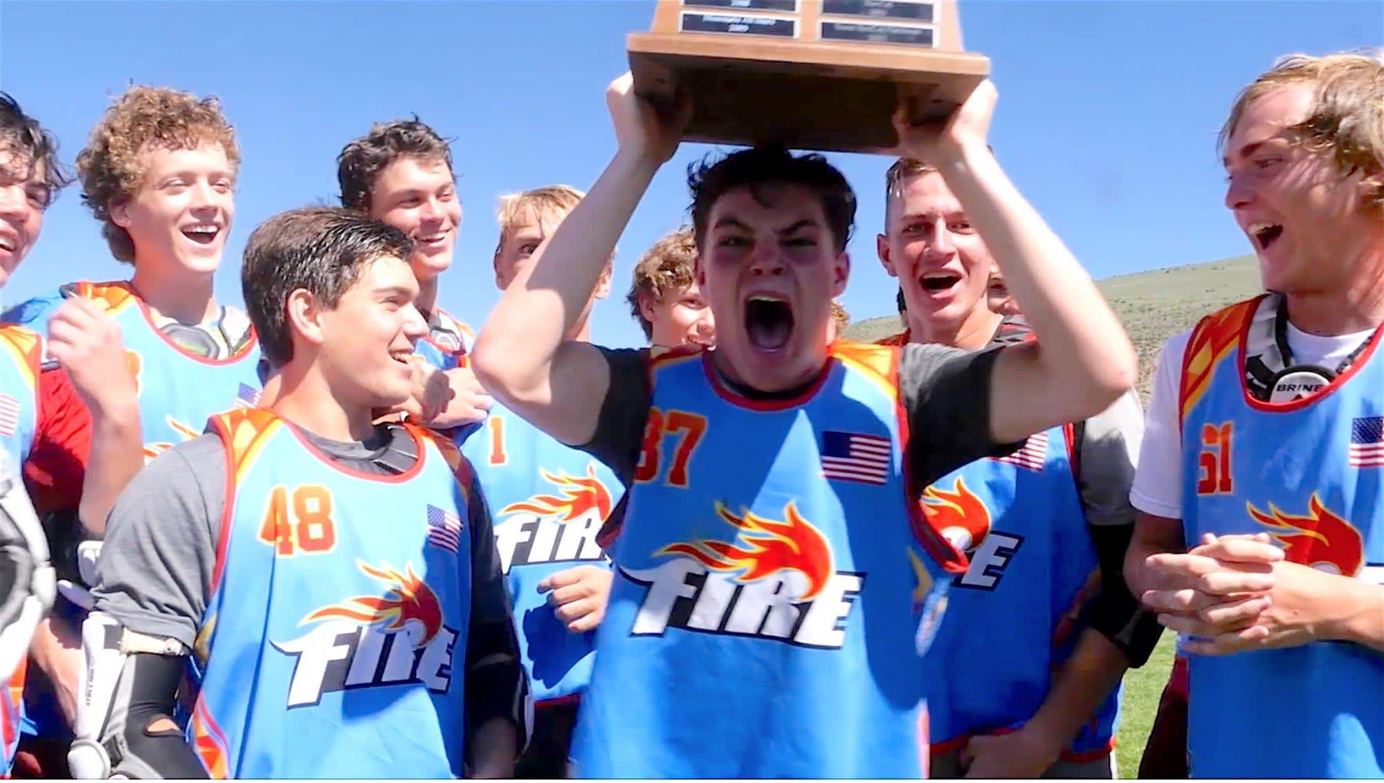 Achievement at 8,000 feet elevation - Vail Lacrosse Tournament