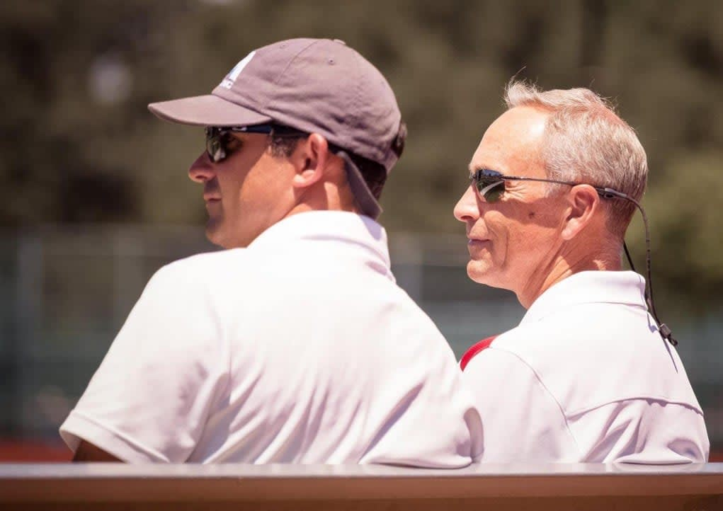 Chris Rotelli and Utah Head Coach Holman