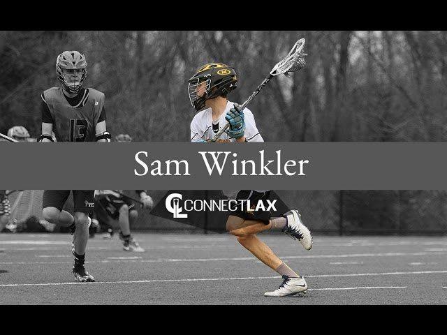 Sam Winkler, Uncommitted lacrosse all star