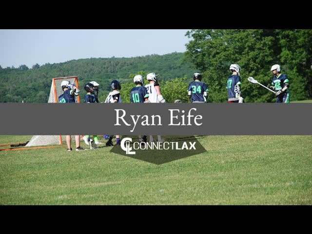 Ryan Eife, Uncommitted Lacrosse All Star