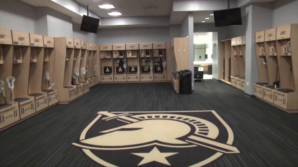 Army lacrosse facility tour