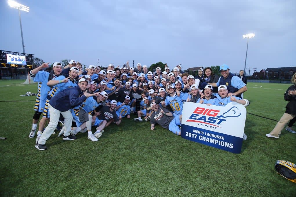 Marquette lacrosse wins second straight big east championship