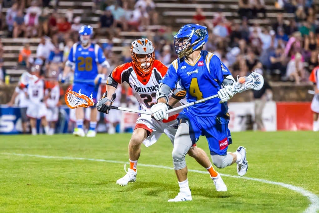 Denver Outlaws Charlotte Hounds MLL 2017 Photo Credit: Paul Boskovich mll crown lacrosse classic story photo