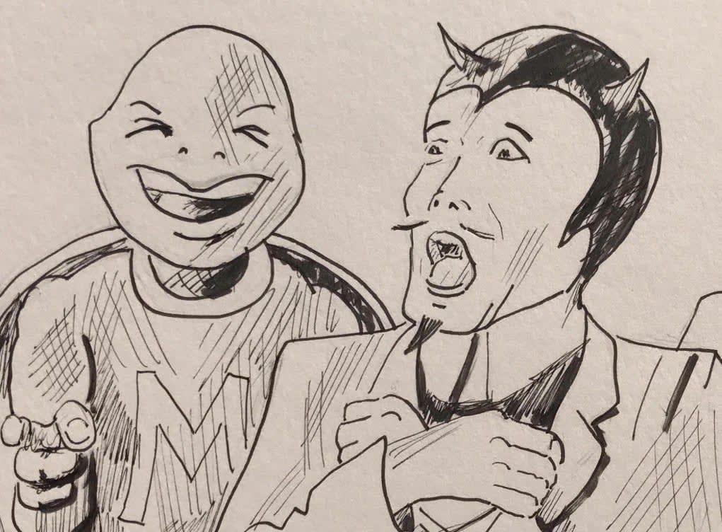 drawing by Jim Fenzel