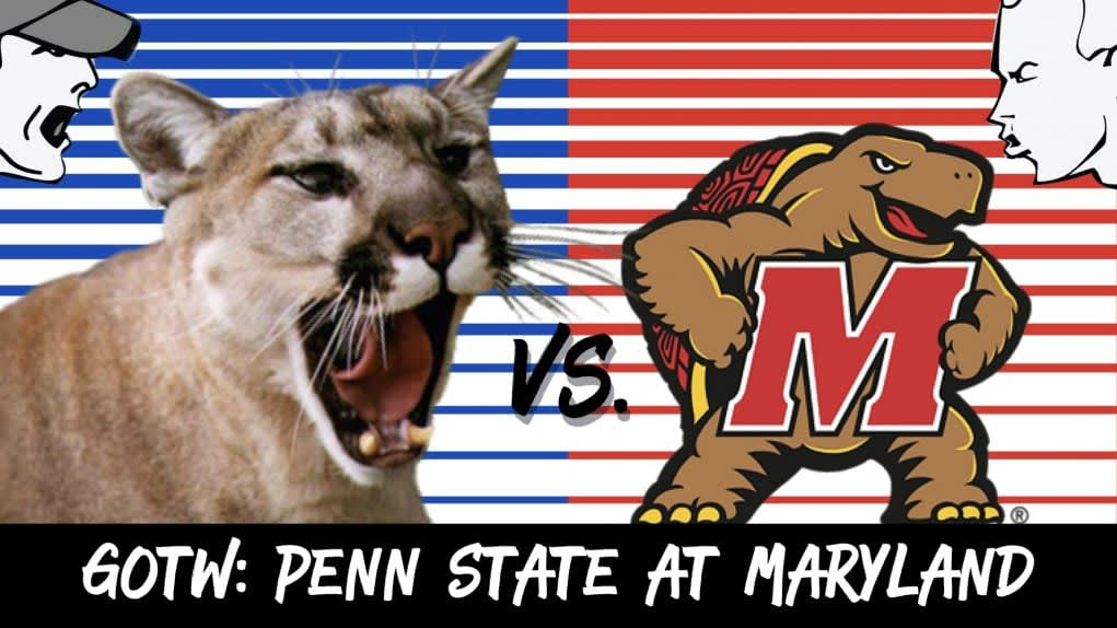 Penn State at Maryland