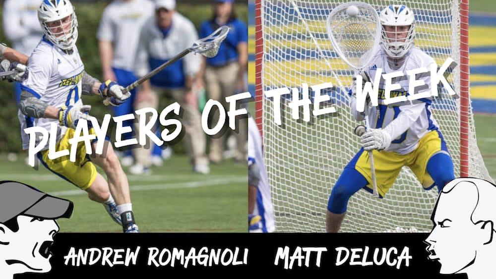 Romagnoli, Deluca - Players of the Week