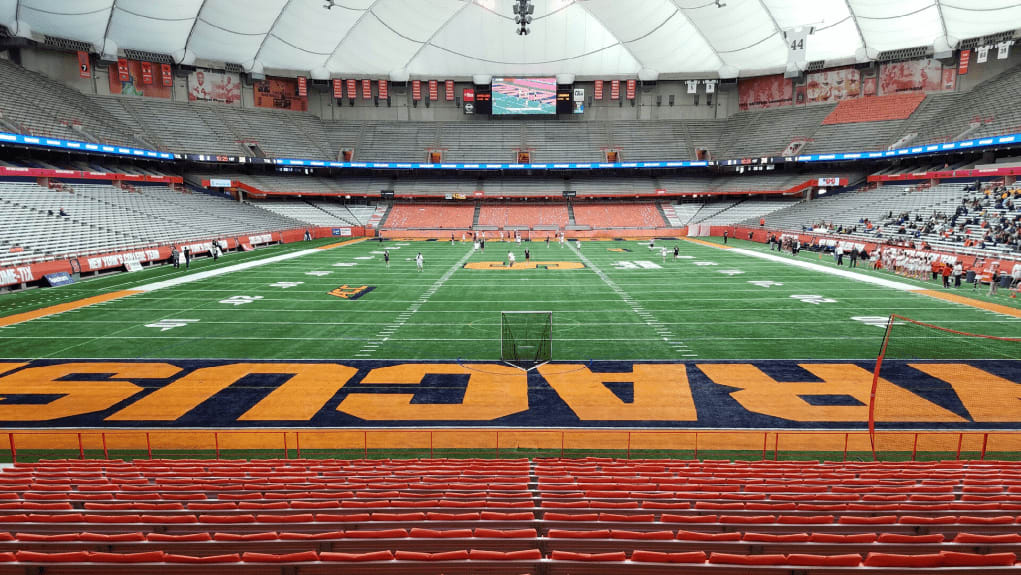 Carrier Dome Syracuse Lacrosse NCAA Lax 2017 Photo: Ryan Conwell NCAA Lax Video Explosion