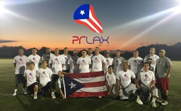 Puerto Rico Lacrosse Team Frank Bonner
