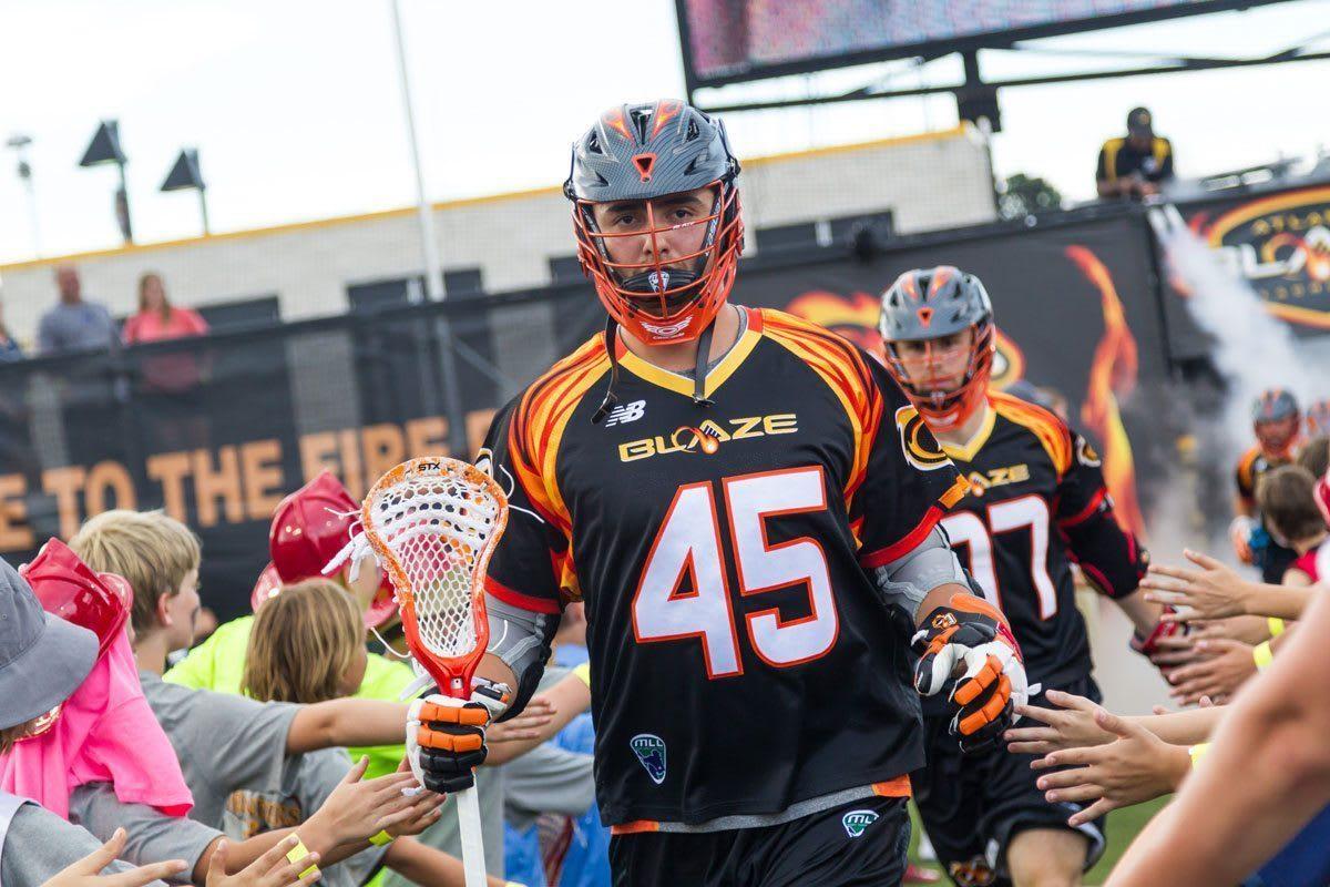 Randy Staats Atlanta Blaze 2016 MLL Playoffs