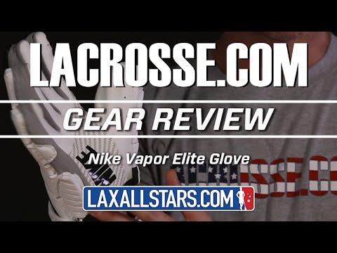 Nike Vapor Elite Lacrosse Glove Review