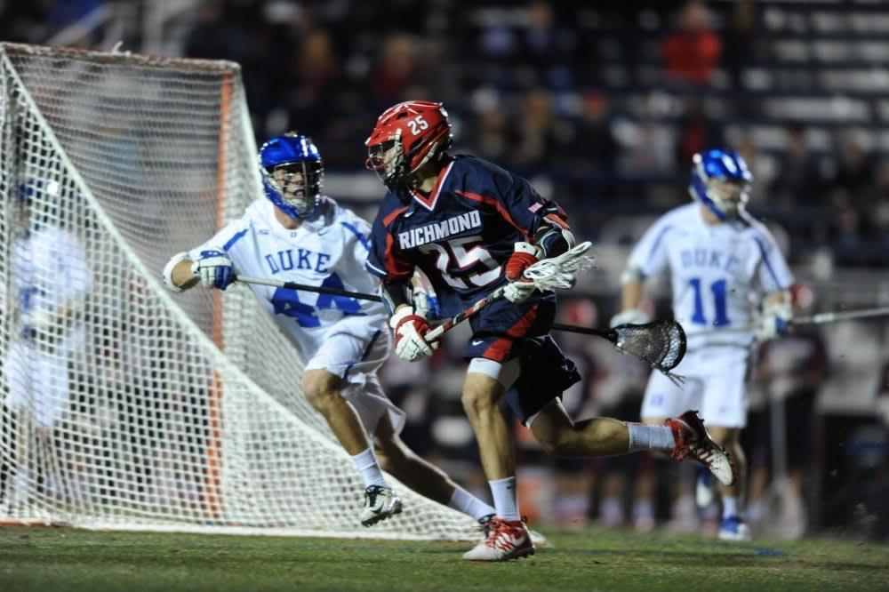 Richmond upsets Duke men's lacrosse 12-10 the end