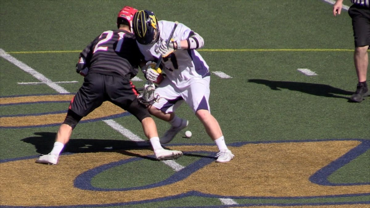 CAL vs Chapman 2016 Lacrosse Highlights