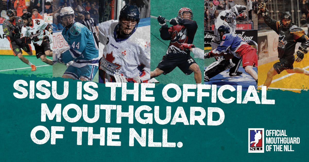 SISU Guard the Official Mouthguard of the NLL