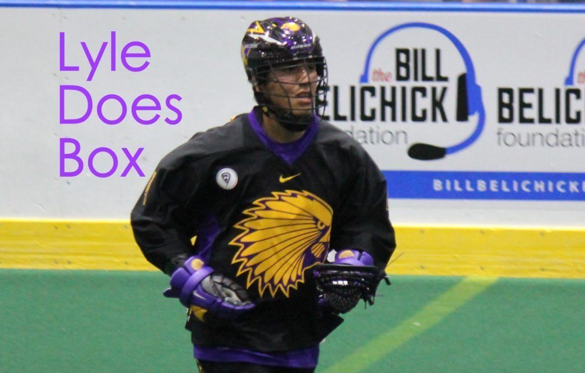 lyle thompson box lacrosse highlights