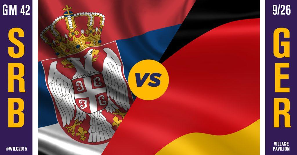 WILC Recap: Germany 13, Serbia 12