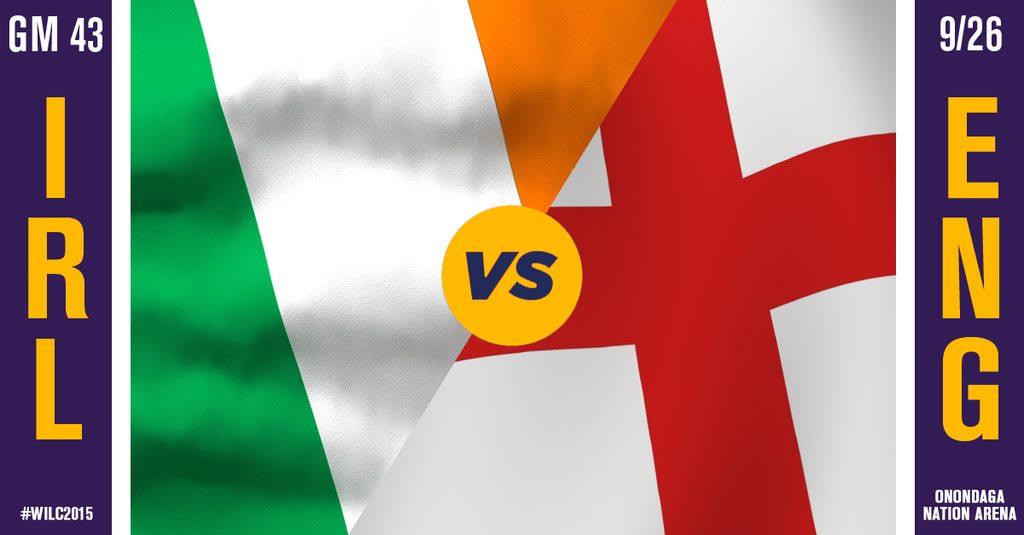 WILC Recap: England 14, Ireland 12