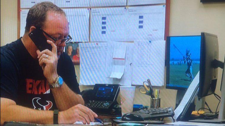 Spotted: Lacrosse on Texans Doug West's Desktop