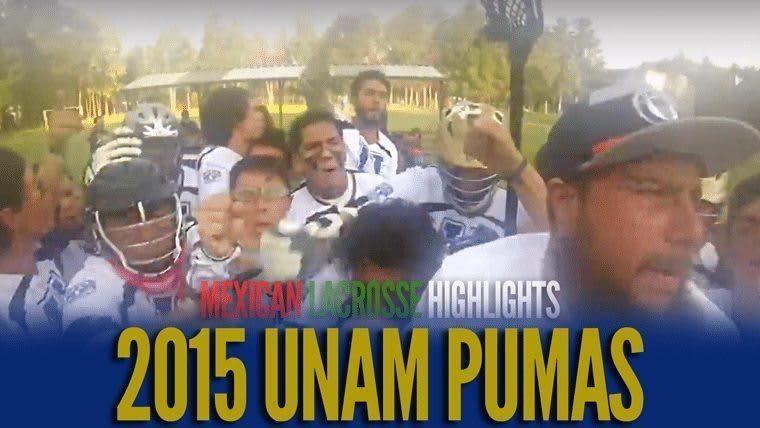 UNAM Pumas Mexican Lacrosse