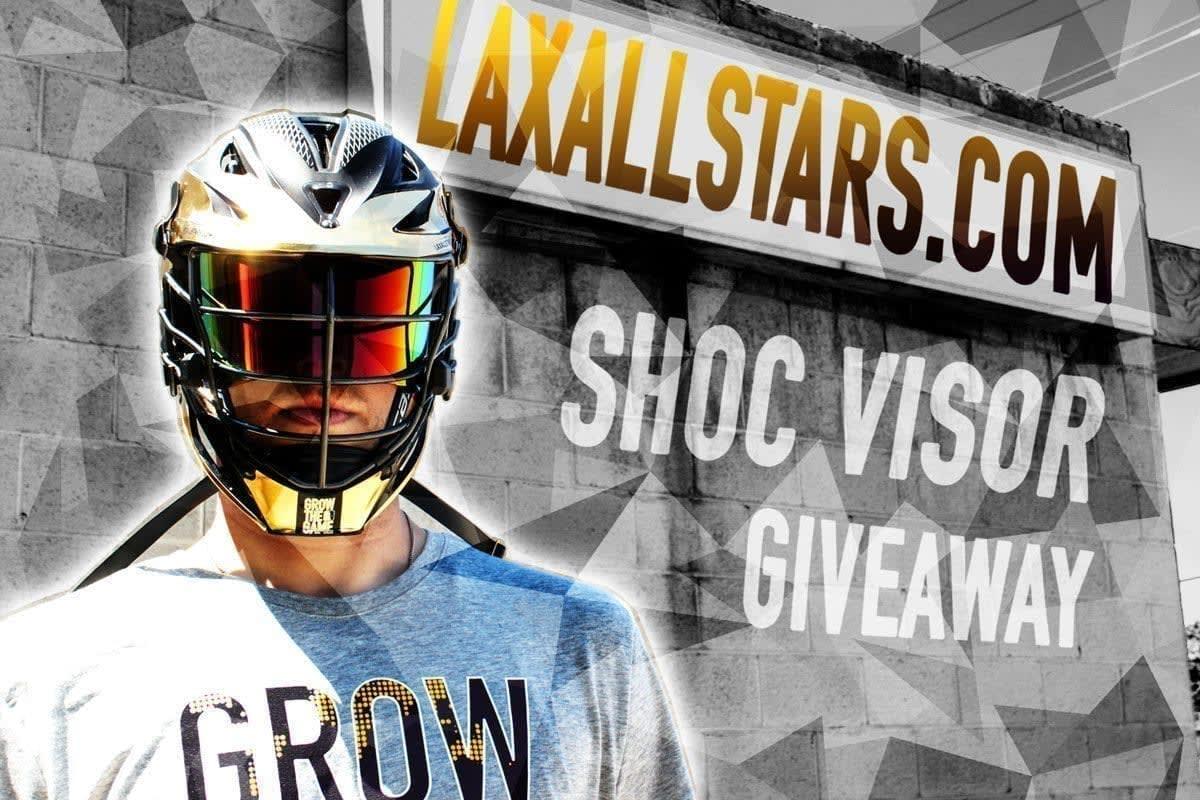 Lacrosse Helmet Shoc Visor