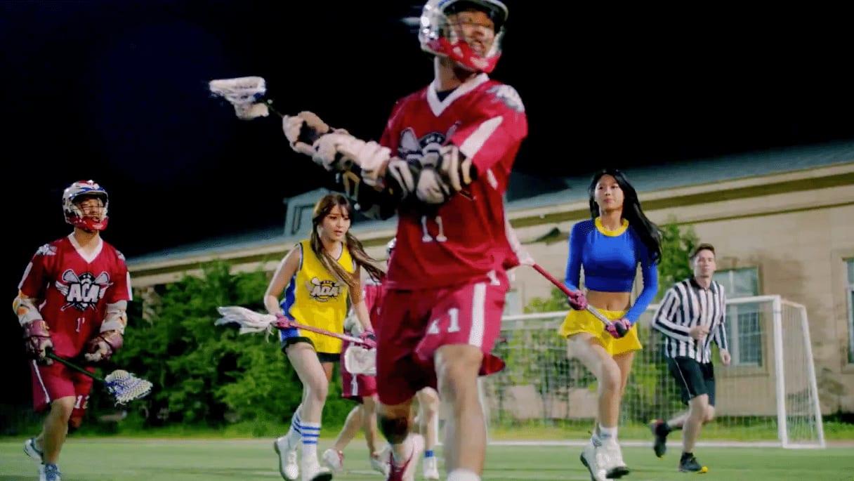 "Lacrosse Invades Korean Pop through AOA ""Heart Attack"""