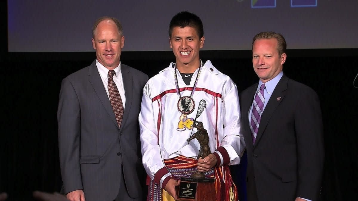 Lyle Thompson and Taylor Cummings Win the Tewaaraton