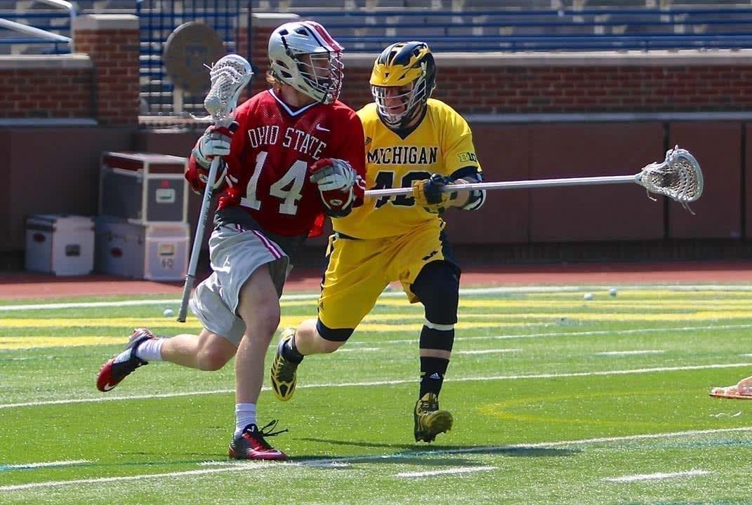 Ohio State vs Michigan 2015 BIg Ten Lacrosse Photo Credit: Molly Tavoletti rundown
