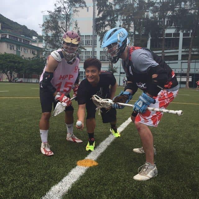 Alex Fong Hong Kong Celebrity lacrosse