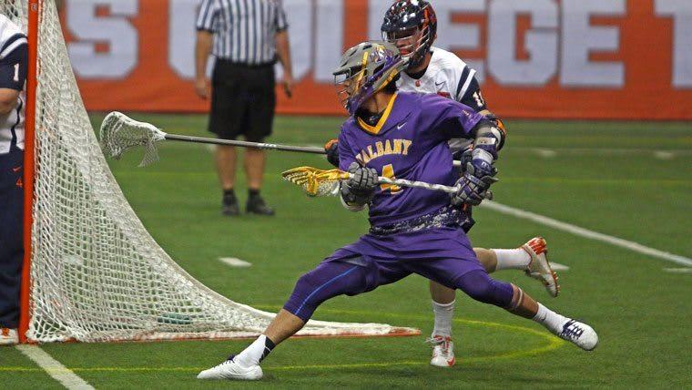 Syracuse lacrosse vs UAlbany 2015 credit Jeff Melnik Chaos In The Polls