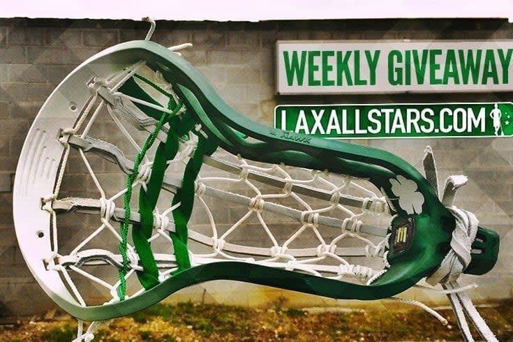 Shamrock Dyed Hawk Lacrosse Head