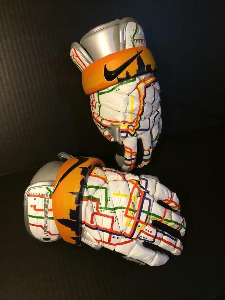 Kacy Small NYC Subway CityLax gloves