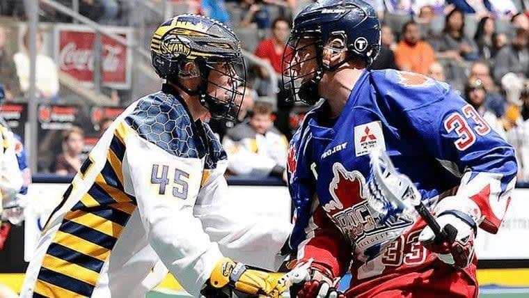 NLL Lacrosse Minnesota Swarm vs Toronto Rock Photo Credit Graig Abel.