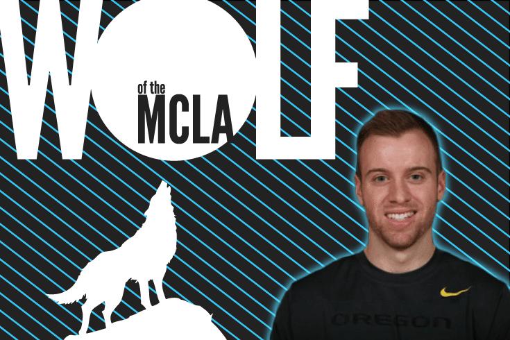 Austin Lewis Oregon Ducks Wolf of the MCLA