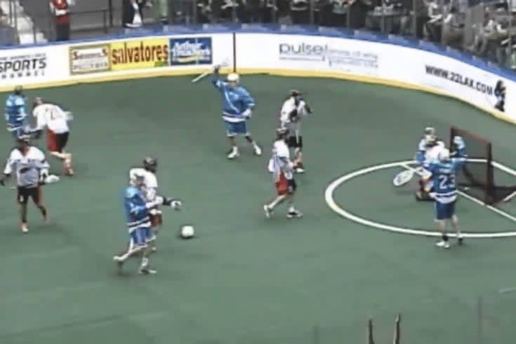 Joe Walters is an Animal in the NLL for the Rochester Knighthawks