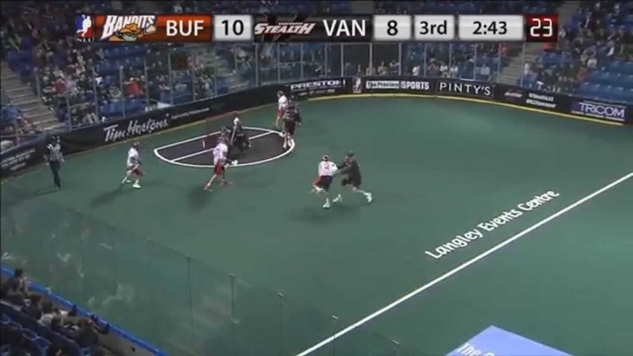 Jerome Thompson first NLL goal