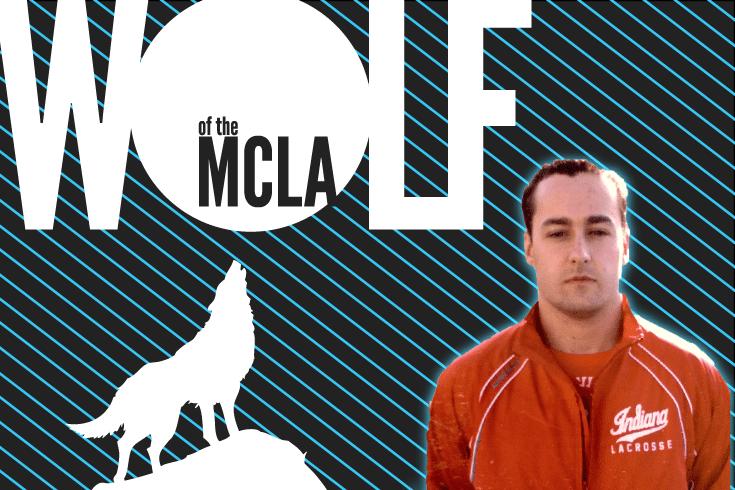 Jack Delaney, Indian University Wolf of the MCLA