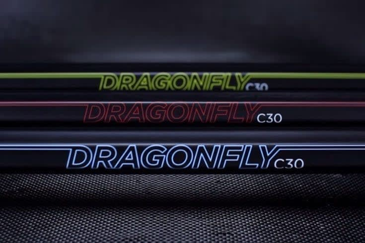 Limited Edition Epoch Lacrosse Dragonfly shafts