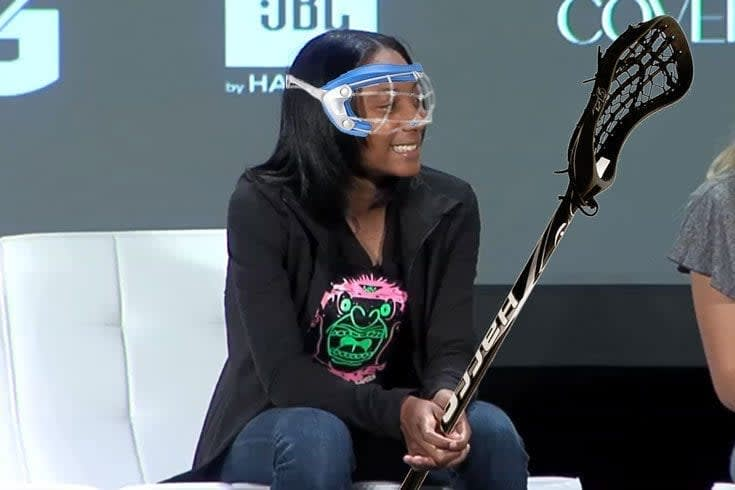 Could Mo'ne Davis switch to lacrosse?