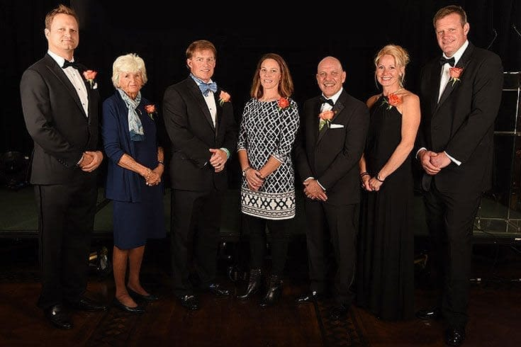 2014 Lacrosse National Hall of Fame group