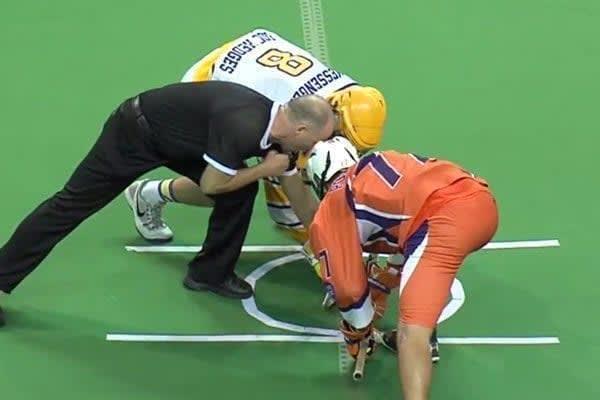 2015 NCAA Faceoff Rules