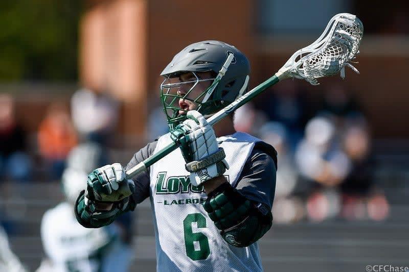 Princeton Loyola Lacrosse fall ball fashion