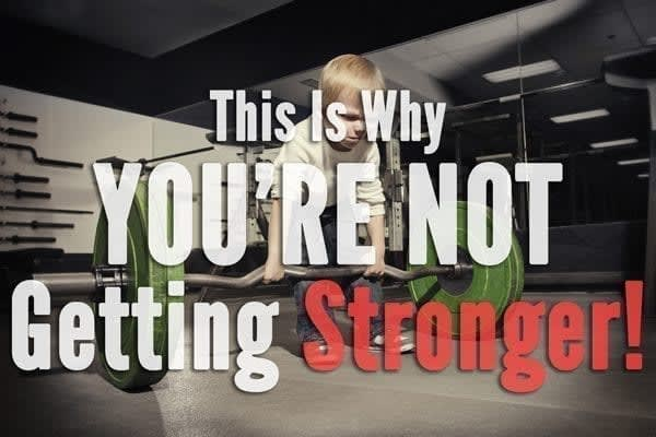 Not getting stronger