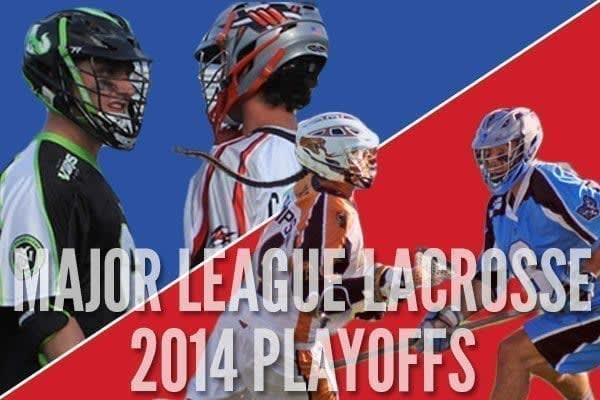 Major League Lacrosse Playoffs 2014