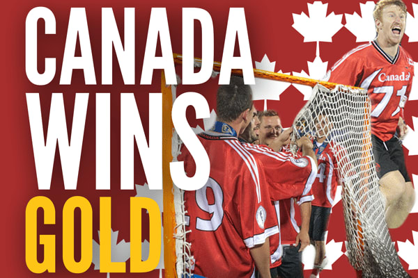 Canada lacrosse wins gold