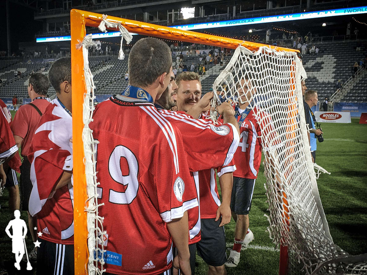 Canada lacrosse roster vs United States 2014 World Lacrosse Championship Gold Medal Game
