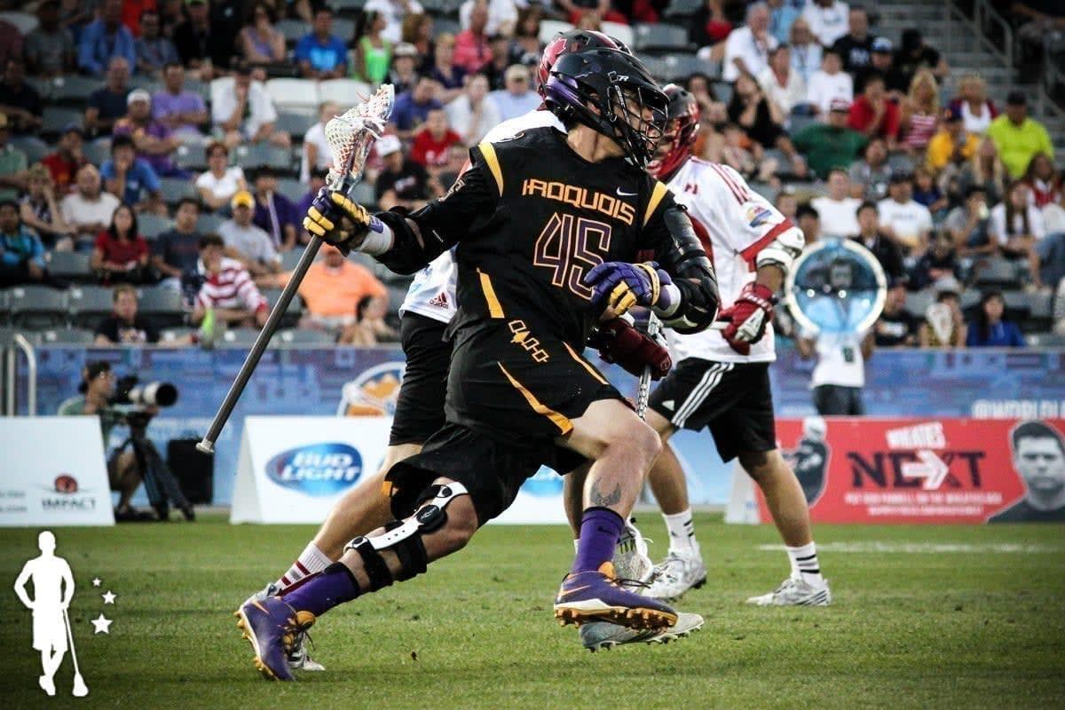 Iroquois v Canada 6.17 World Lacrosse Championship International Lacrosse