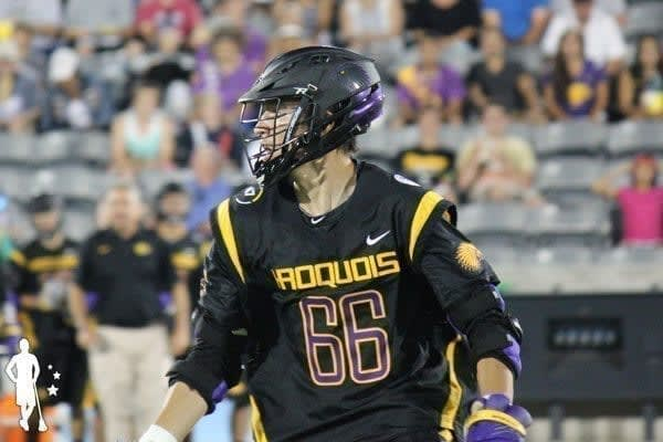 Iroquois locker room v Canada 6.17 World Lacrosse Championship 2018 Iroquois Nationals Lacrosse Roster