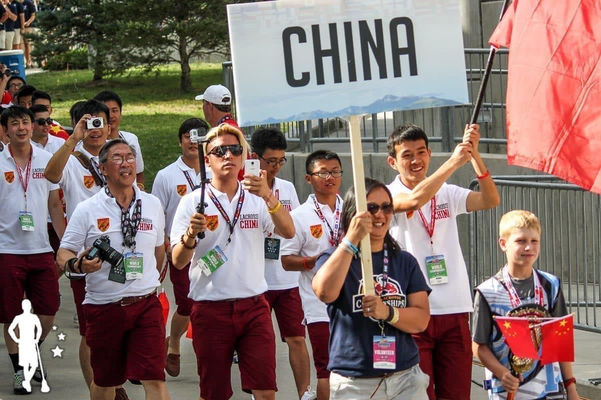 China - 2014 World Championships Opening Ceremony