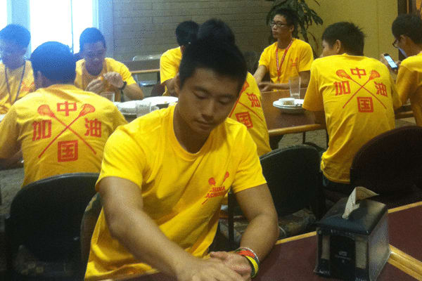 China lacrosse team Day 1