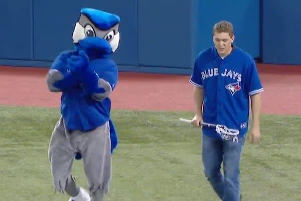 Stephan LeBlanc Toronto Rock Toronto Blue jays